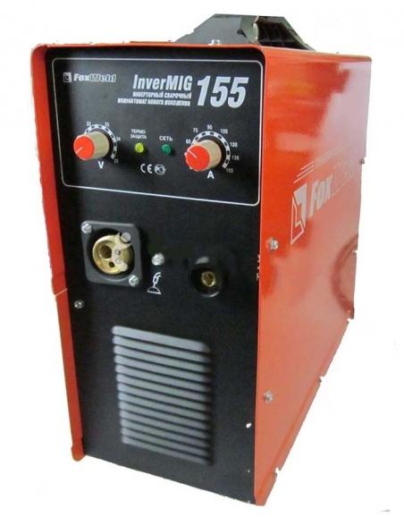 Аппарат полуавтоматической сварки Foxweld INVERMIG 155