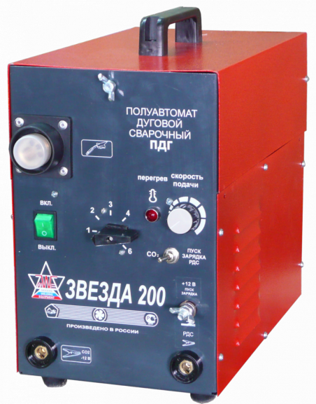 Аппарат полуавтоматической сварки ПДГ-200АР+ТИГ Звезда