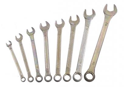 Набор комбинированных ключей (6-19) 8 предметов