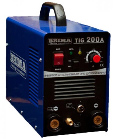 Аппарат аргонодуговой сварки BRIMA TIG-200А