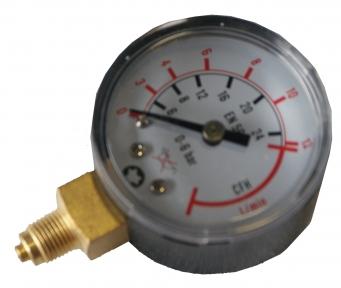 Манометр аргоновый/углекислотный Oxyturbo MINI Ø50 G1/8B (0-6 бар)