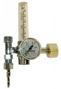 Регулятор универсальный УРГ-40 (аргон/СО2) в алюмиевом корпусе