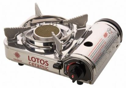 Плита газовая 1-конфорочная LOTOS CERAMIC TR-350