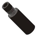 Рукав топливный Ø9,0 мм чёрный