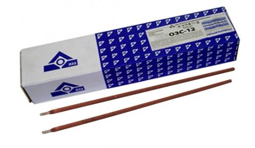 Электроды сварочные ОЗС-12 пачка 5 кг