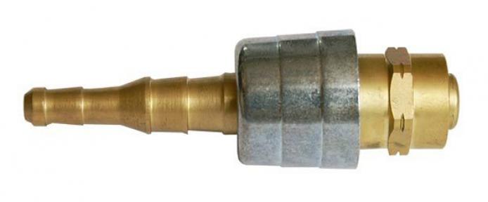 Соединение быстросъемное на резак/горелку 6/9 мм, кислород