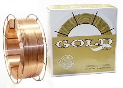 Кассета с проволокой омедненной СВ-08Г2С-О GOLD Ø 0,8 мм