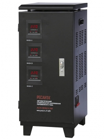 Стабилизатор 3-хфазный Ресанта АСН-9000/3