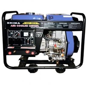 Дизельный сварочный генератор Brima 5GF-MEW