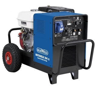 Аппарат аргонодуговой сварки Blueweld MOTOWELD 204 CE (бензин)