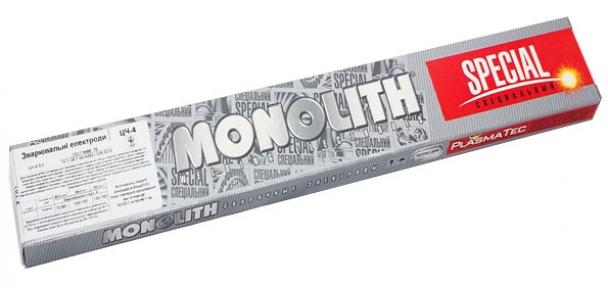 Электроды сварочные Монолит ЦЧ-4 ø3 мм, пачка 0,8 кг