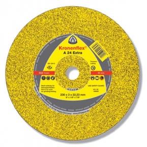 Круг зачистной по металлу Kronenflex A24 Extra 115х6х22,23мм