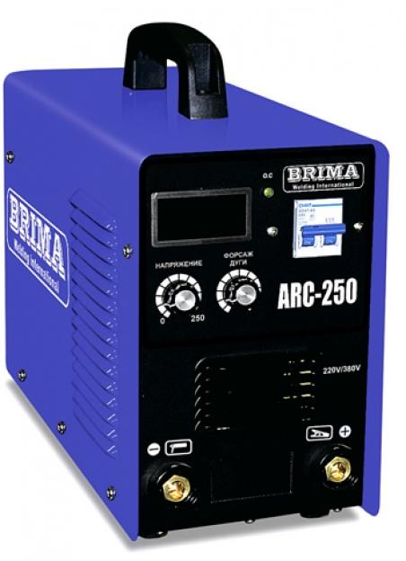 Аппарат дуговой сварки BRIMA ARC-250 (220 и 380В)