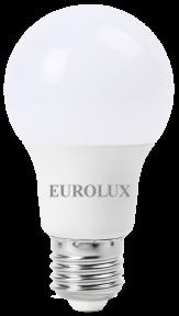 Лампа светодиодная Eurolux в форме груши (A60), 230 В