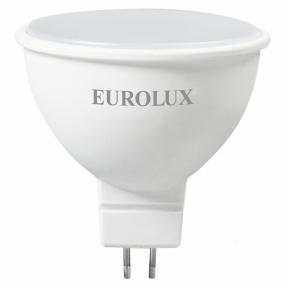 Лампа светодиодная Eurolux, форма MR16 с рефлектором, 230 В