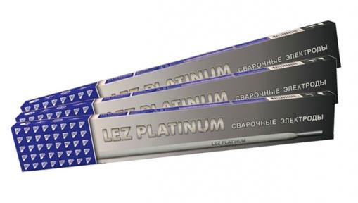 Электроды сварочные ЛЭЗ PLATINUM (тип Э46) пачка 2,5 кг