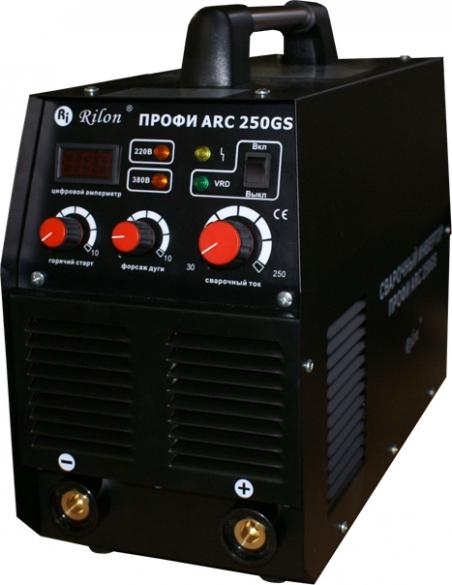 Аппарат дуговой сварки Профи ARC-250 GS (220 и 380В)