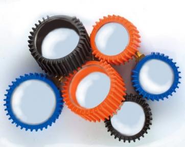 Колпачок защитный резиновый для манометров синий Ø63
