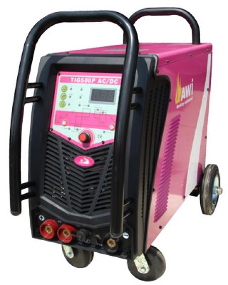 Аппарат аргонодуговой сварки AWI TIG 500P AC/DC Digital pulse