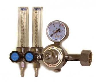 Регулятор углекислотный УР-30-Р2 с 2-я ротаметрами без подогрева