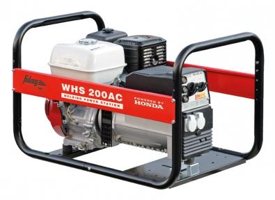 Бензогенератор сварочный агрегат Fubag WHS 200 AC
