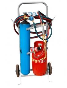 Газосварочный комплект ПГУ-12П (пропановый передвижной)