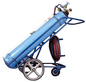 Газосварочный комплект ПГУ-40А (ацетиленовый передвижной)