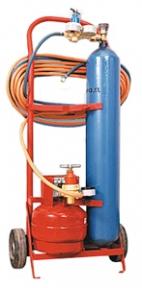Газосварочный комплект ПГУ-10П1 (пропановый передвижной)