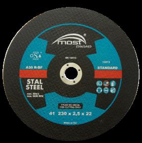 Диск отрезной по металлу MOST 230х22х2,5