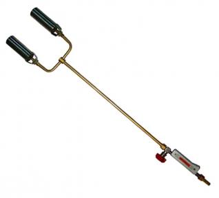 Горелка ГВМ-2 (L=1000 мм) 2-хфакельная вентильная