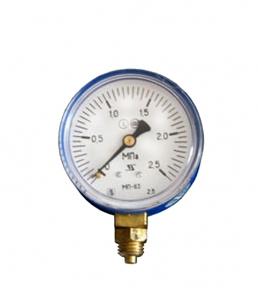 Манометр МП-63П  2,5 МПа кислородный