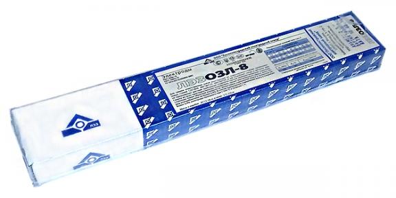 Электроды сварочные ОЗЛ-8 для нержавеющей стали, пачка 1 кг