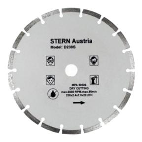 Диск алмазный Stern D230TW Турбо 230х22