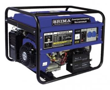 Бензогенератор Brima LT 8000 EB