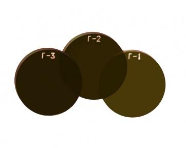 Стекло сварочное круглое (Ø50 мм) для очков