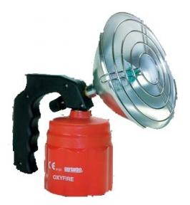 Лампа нагревательная Oxyturbo OXYFLASH-100 пьезо бутан-пропановая с рефлектором