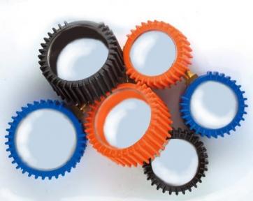 Колпачок защитный резиновый для манометров синий Ø52