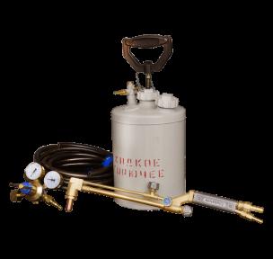 Газосварочный комплект для резки жидким горючим КЖГ (без тележки)